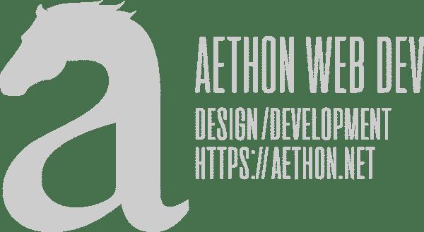 Aethon Web Dev